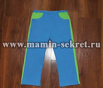 Спортивные брюки для мальчика (8 фото)