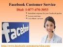 Found something fishy in account? Use Facebook Customer Service 1-877-470-3053