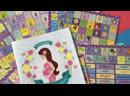 Недатированный календарь для беременных с наклейками