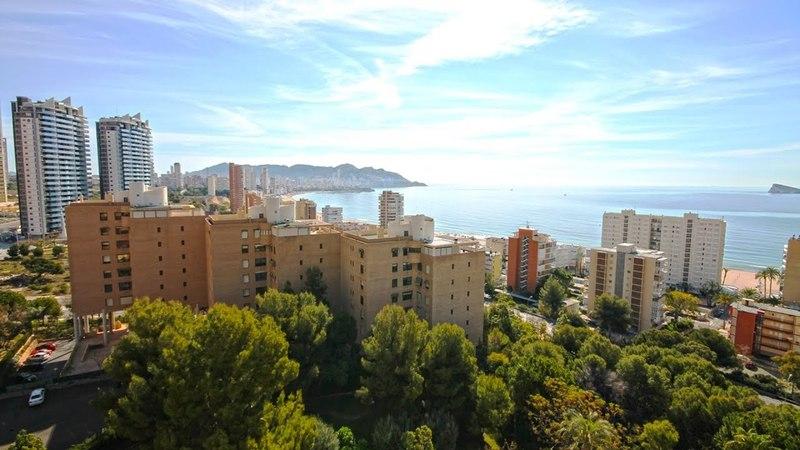 Испания, Бенидорм, пентхаус - атико с видом на море, комплекс Coblanca 31, недвижимость в Испании