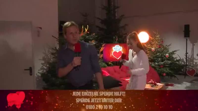 08 12 2018 ZDF Ein Herz fuer Kinder backstage