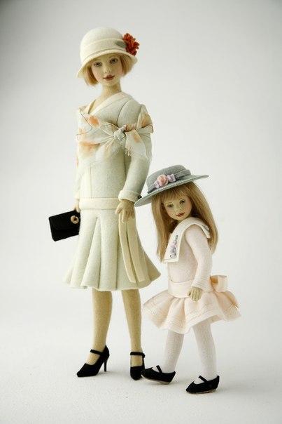 Куклы из фетра и войлока американской кукольницы Maggie Iacono FIewhpbctMA