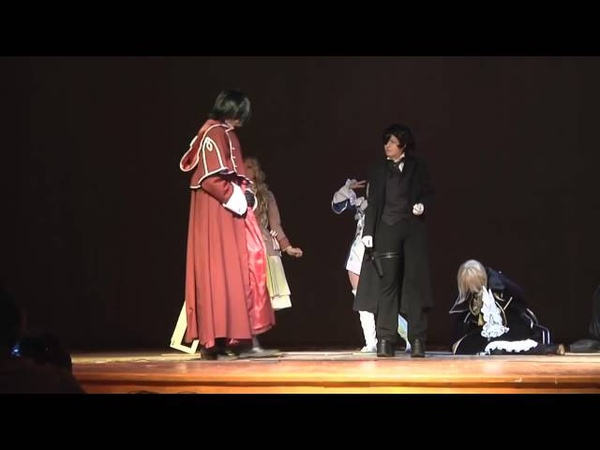 Косплей сценка по аниме Сердца пандоры Pandora Hearts Воронеж 2010