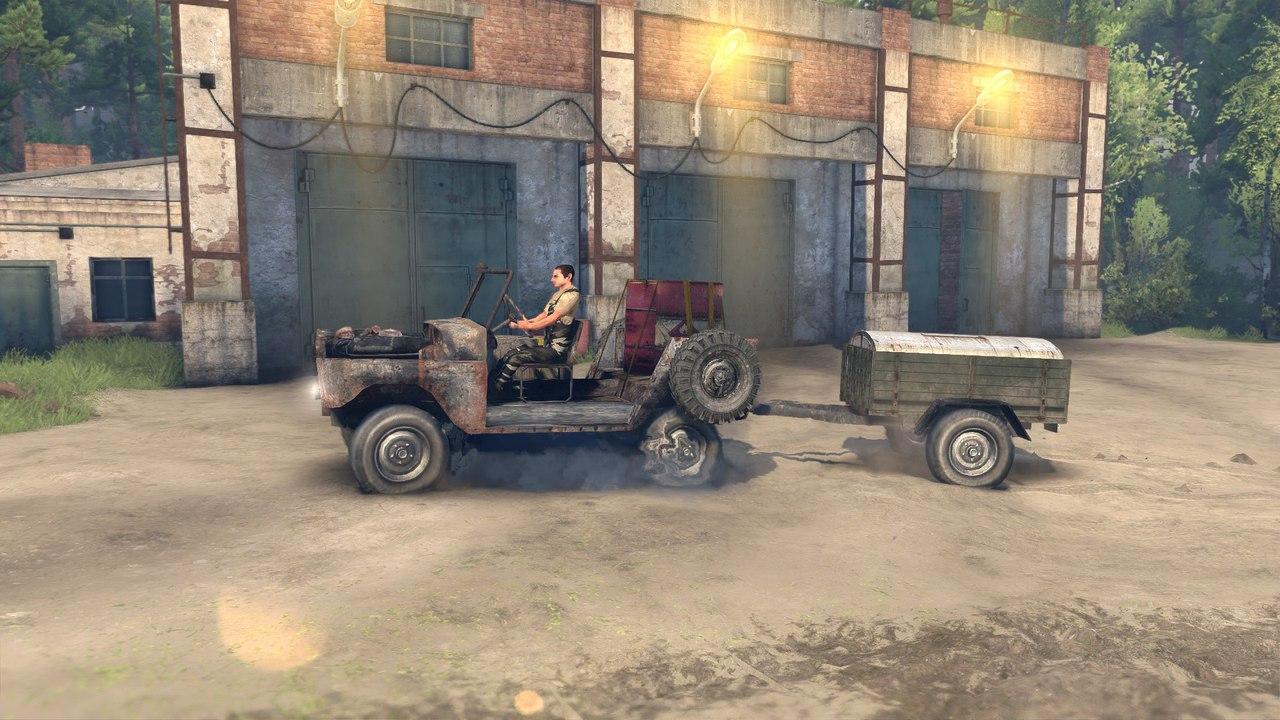 Ржавый уаз для Spintires - Скриншот 3
