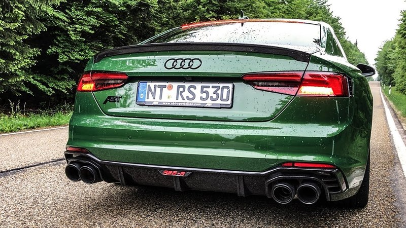 2018 Abt Audi RS5-R: Sound, Drive, Acceleration, Pops and Bangs