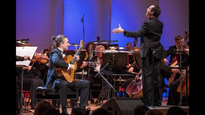 Artyom Dervoed plays A. Tchaikovsky guitar concerto. World premiere. Damian Iorio E. Svetlanov SSO