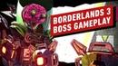 Borderlands 3: Amara Giga-Mind Boss Gameplay