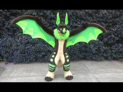 Bat Dragon Fursuit finished (Temba)