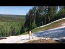 Лыжи и сноуборд в конце мая Питер