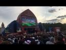 5ый гол сборной России фан зона Воробьевы горы