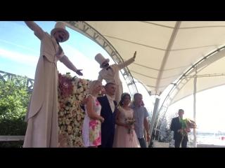 Свадьба Дмитрия и Кристины.