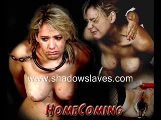 Shadowslaves - homecoming, bdsm, bondage, electro torture, punishment, spanking, whipping, wax, toys, forced orgasm, blowjob