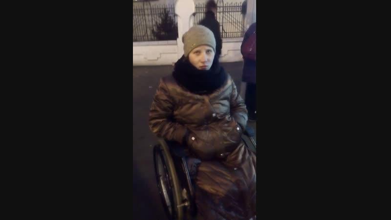 Покатушки на коляске по Немиге и такси с мигалками