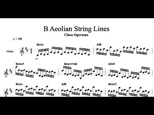 Film Scoring: String Writing of Claus Ogerman