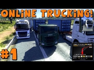 Euro Truck Simulator 2 | Multiplayer Mod | Trucking Adventures Feat. Gunner4568 | Part 1