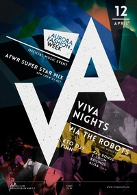 VIVA NIGHTS X AURORA FASHION WEEK * 12.04.2014
