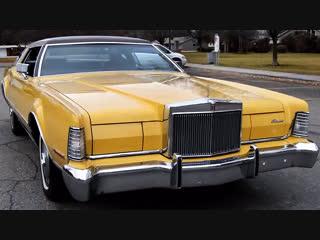 Автомобиль Lincoln Continental Mark IV, 1973 года
