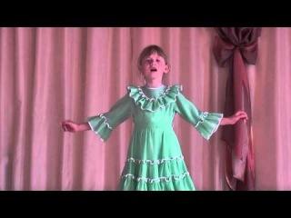 НА СЕВЕРЕ ДИКОМ исп. Алена Мокроусова, 7 лет, кружок Театральная студия ДЕБЮТ ЦРТДЮ КАМЫШИН