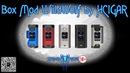 Box Mod WildWolf 235W by Hcigar | Unboxing | SergSpider review | FullHD |