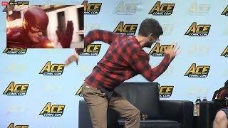 ACE Comic Con Panel Funny Moments with Grant Gustin 2018