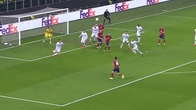 Inter ganó 4-0 al Rapid Viena por los dieciseisavos de la Europa League 2019 en el estadio 'San Siro'
