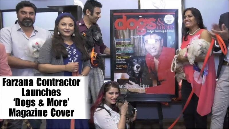 Sandip Soparrkar At The Dogs More Magazine Cover | Smilie Suri