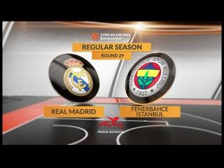 Highlights: Real Madrid-Fenerbahce Istanbul. Евролига. Обзор. Реал Мадрид - Фенербахче