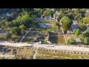 Η αρχαία αγορά από ψηλά ναός του Ηφαίστου Ancient Agora temple of Hephaestus drone video 1080 X 1920