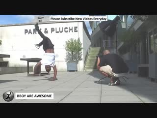 Bboy Kid Colombia Power Move Practice