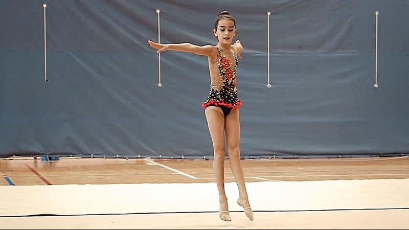 8-й поток 2008г.р. группа Б Первенство г.Кстово по Художественной Гимнастике