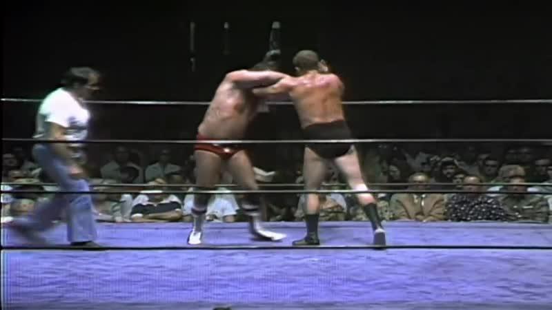Harley Race vs. Terry Funk _ NWA Worlds Heavyweight Championship (FULL MATCH)