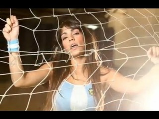 Sexy girl fashion (fan Messi) freestyle football (soccer) #remix #soccer #sexy #Like ❤ ✔