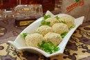 Сырные шарики с тунцом и укропом