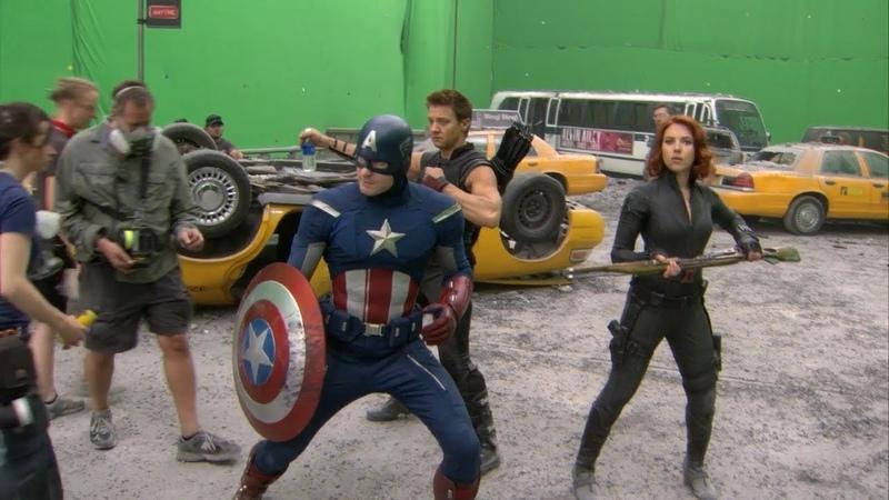 The Avengers   Behiind the scenes