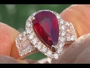 Exceptionally Rare GIA Certified Unheated VVS Clarity Ruby Diamond 14k Rose Gold Ring - C517