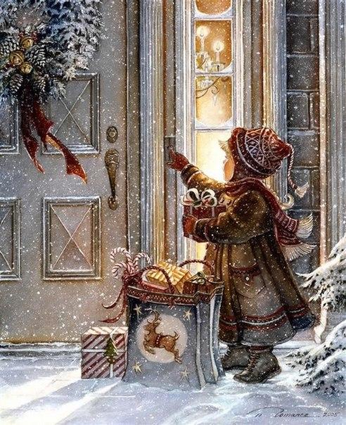Картинки с праздничным новогодним настроением