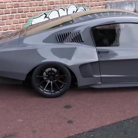 Craziest Ford Mustang that you've ever seen