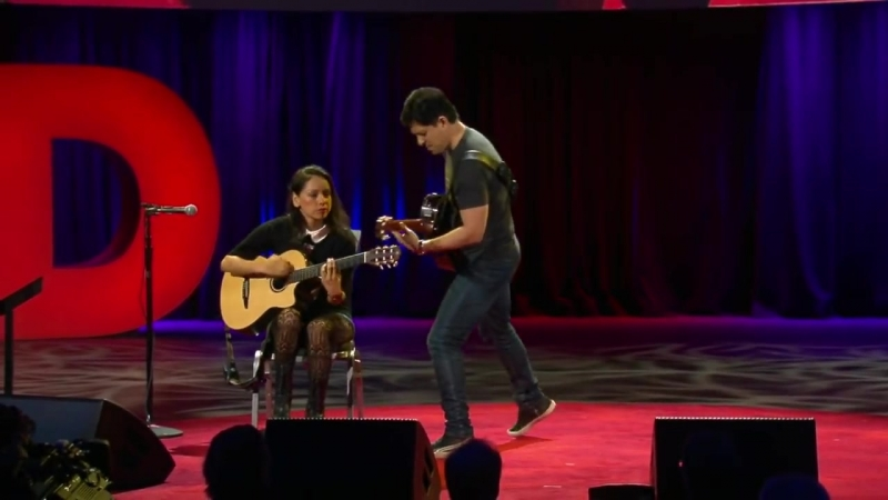 An electrifying acoustic guitar performance _ Rodrigo y Gabriela