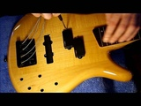 Installing the EMG LJVX + PAX Victor Wooten Pickup Set &amp Michael Pope Flexcore Preamp - Step 4