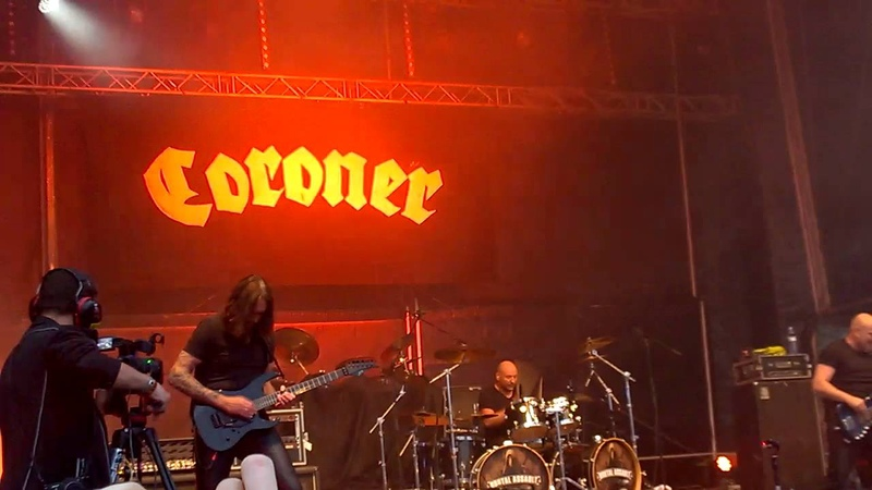 Coroner - Semtex Revolution (Live @ Brutal Assault 2016)