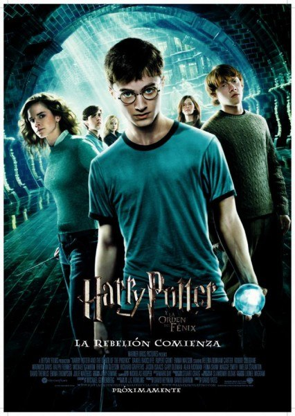 Ver Harry Potter y la Orden del Fénix / Harry Potter 5 (2007) Online
