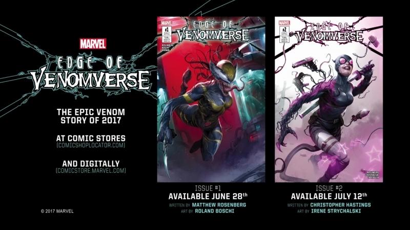 All New Wolverine is VENOMIZED Edge of Venomverse Issue 1