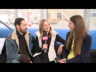 Кейт и Майкла говорят о своем фильме