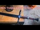 Quá trình rèn thanh kiếm đẹp tuyệt hảo từ nhíp ôtô