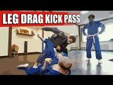 Leg Drag Kick Pass  Keenan Cornelius Style