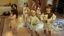 Детская Студия ШТРИХ - коллекция Влюблённые в лён.Организатор проекта:Пантера Моделс. 12.05.2019
