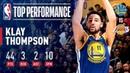 Klay Thompson Scorches The Net From Long Range January 21 2019 NBANews NBA Warriors KlayThompson