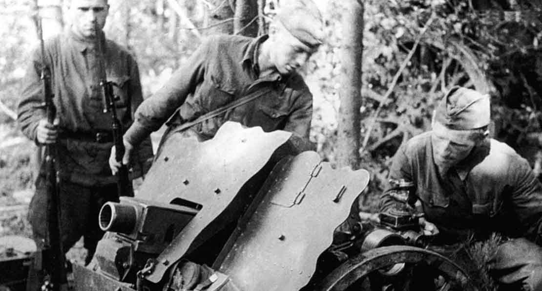 Немецкие пушки