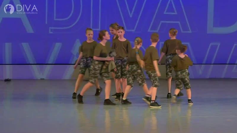 Hip-hop (8-12 лет) LT Crew, хореограф Валерия Комлева - студия танца DIVA