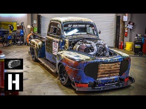 Twin Turbo 1200 HP Ford F1 Diesel - Pikes Peak Monster